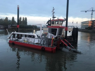 Elektrische installatie custom made  dredger Orange Pit